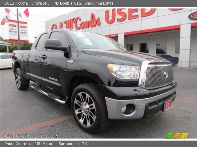 black 2013 toyota tundra sr5 trd double cab graphite interior vehicle. Black Bedroom Furniture Sets. Home Design Ideas