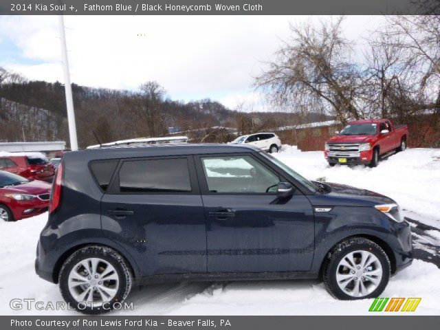 2014 Kia Soul + in Fathom Blue