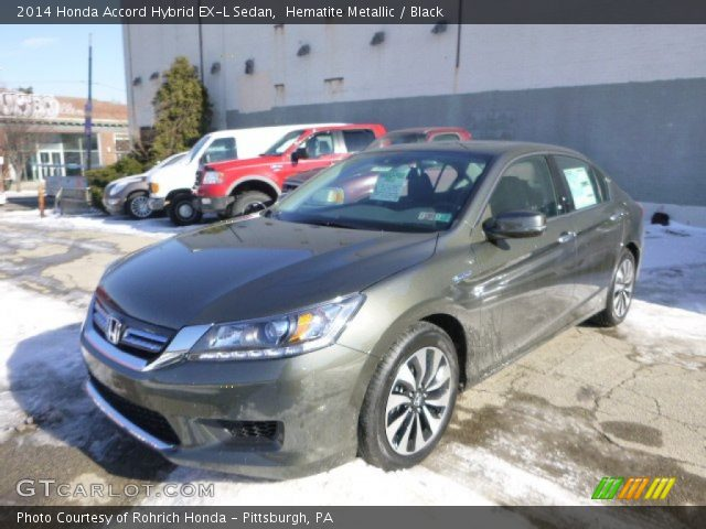 2014 Honda Accord Hybrid EX-L Sedan in Hematite Metallic
