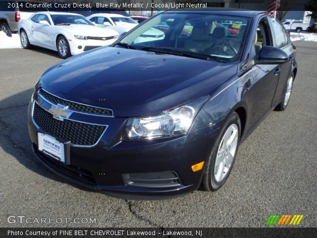2014 Chevrolet Cruze Diesel in Blue Ray Metallic