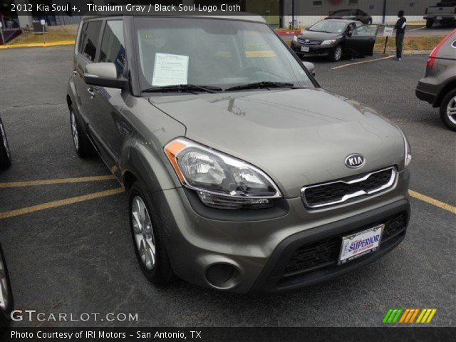 2012 Kia Soul + in Titanium Gray