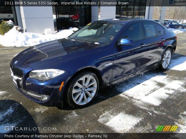 2011 BMW 5 Series 535i Sedan in Imperial Blue Metallic