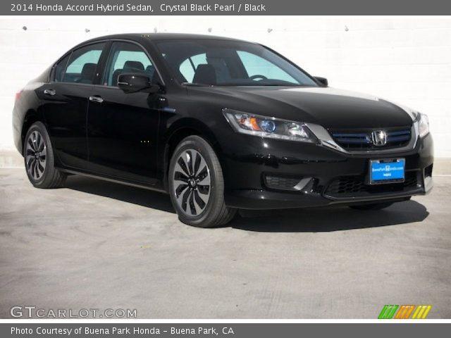 Crystal black pearl 2014 honda accord hybrid sedan for 2014 honda accord black