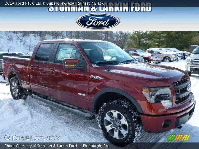 2014 Ford F150 Lariat SuperCrew 4x4 in Sunset