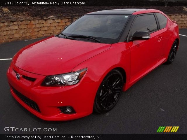 2013 Scion tC  in Absolutely Red