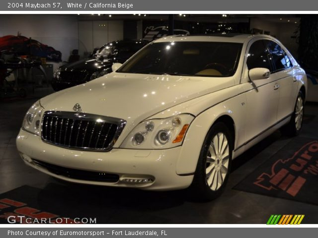 2004 Maybach 57  in White
