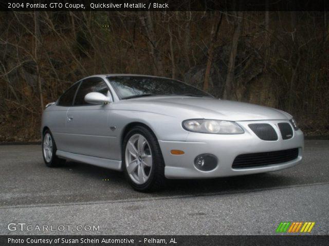 2004 Pontiac GTO Coupe in Quicksilver Metallic