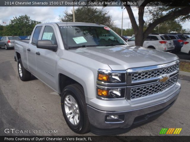2014 Chevrolet Silverado 1500 LT Double Cab in Silver Ice Metallic