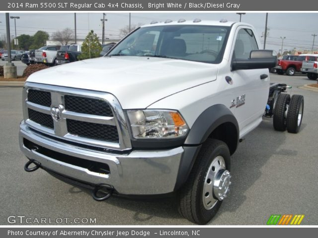 2014 Ram 5500 SLT Regular Cab 4x4 Chassis in Bright White