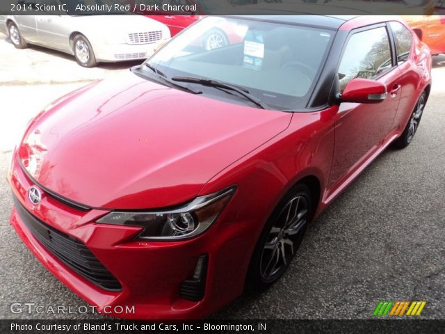 2014 Scion tC  in Absolutly Red