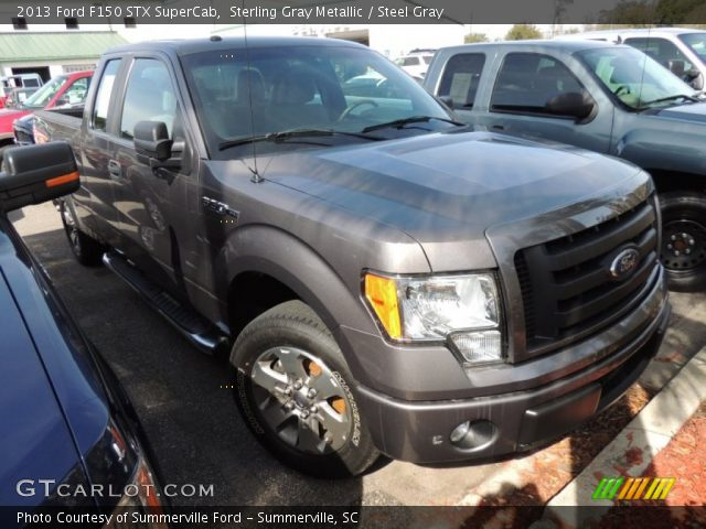 2013 Ford F150 STX SuperCab in Sterling Gray Metallic