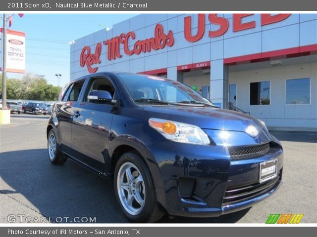2011 Scion xD  in Nautical Blue Metallic
