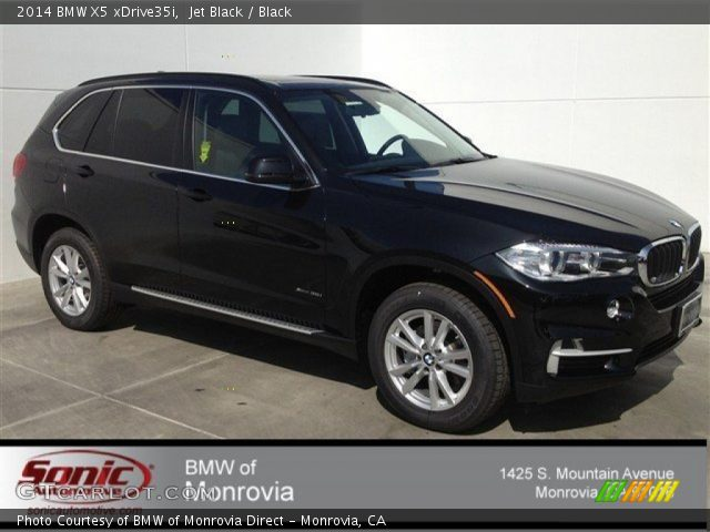 jet black 2014 bmw x5 xdrive35i black interior vehicle archive 91092297. Black Bedroom Furniture Sets. Home Design Ideas