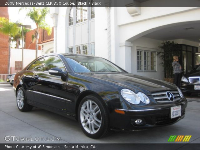 2008 Mercedes-Benz CLK 350 Coupe in Black
