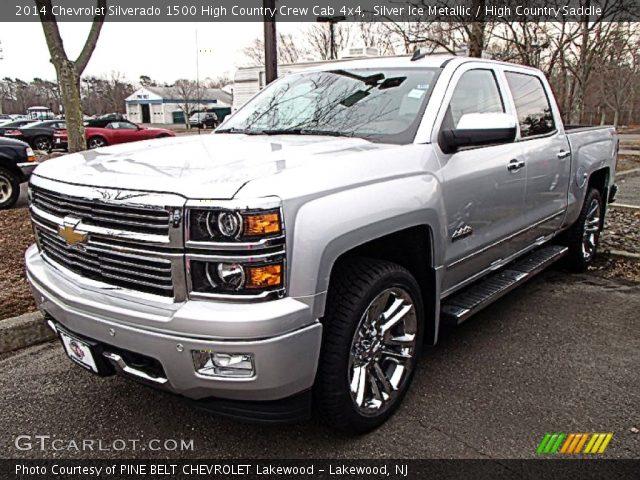 Silver Ice Metallic 2014 Chevrolet Silverado 1500 High Country
