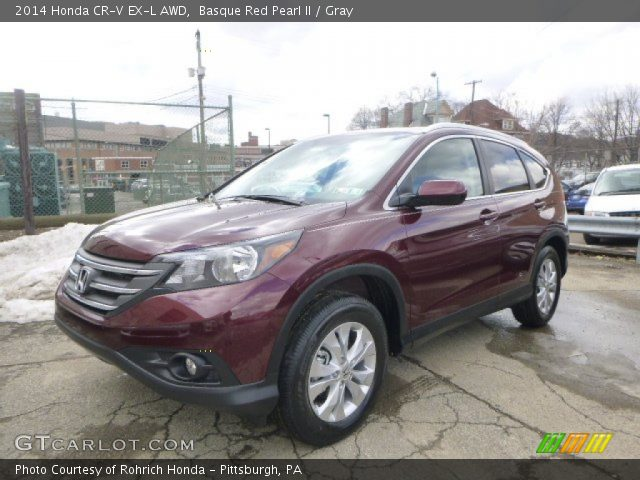 basque red pearl ii 2014 honda cr v ex l awd gray interior vehicle archive. Black Bedroom Furniture Sets. Home Design Ideas
