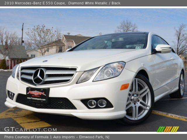 2010 Mercedes-Benz E 550 Coupe in Diamond White Metallic