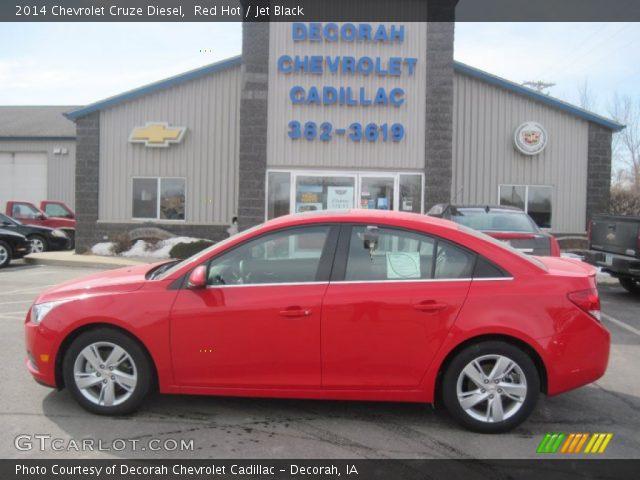 2014 Chevrolet Cruze Diesel in Red Hot