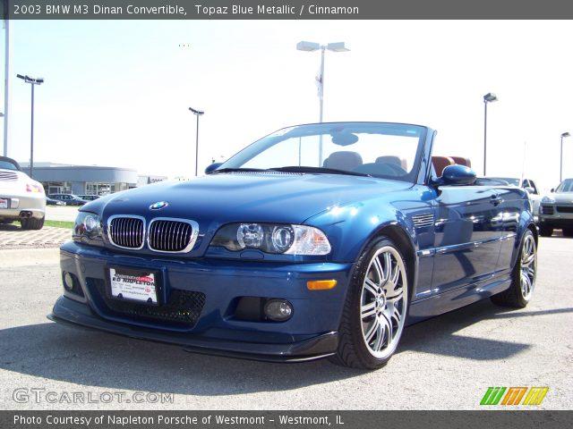 Topaz blue metallic 2003 bmw m3 dinan convertible - E46 m3 cinnamon interior for sale ...