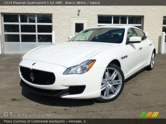bianco white 2014 maserati quattroporte s q4 awd sabbia interior vehicle. Black Bedroom Furniture Sets. Home Design Ideas