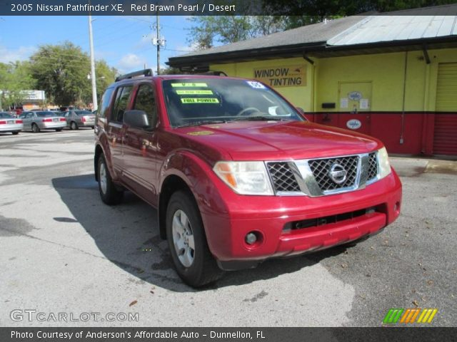 red brawn pearl 2005 nissan pathfinder xe desert. Black Bedroom Furniture Sets. Home Design Ideas