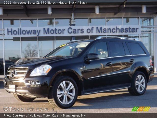2011 Mercedes-Benz GL 350 Blutec 4Matic in Black