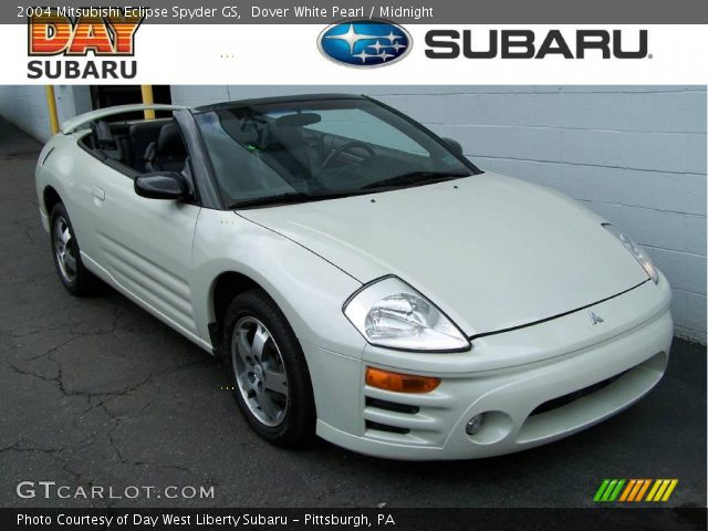 2004 Mitsubishi Eclipse Spyder GS in Dover White Pearl. Click to see ...