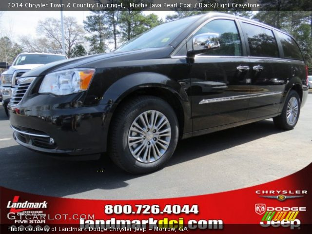 mocha java pearl coat 2014 chrysler town country touring l black light graystone interior. Black Bedroom Furniture Sets. Home Design Ideas