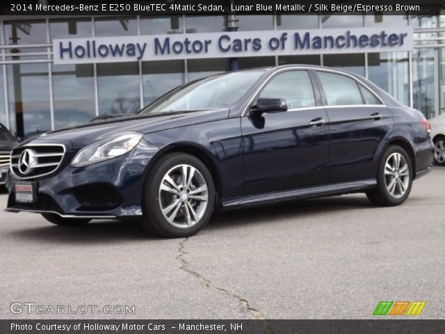 2014 Mercedes-Benz E E250 BlueTEC 4Matic Sedan in Lunar Blue Metallic