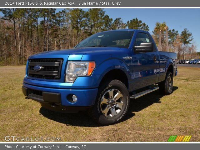 2014 Ford F150 STX Regular Cab 4x4 in Blue Flame