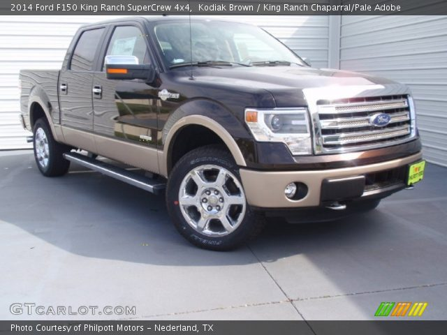 kodiak brown 2014 ford f150 king ranch supercrew 4x4. Black Bedroom Furniture Sets. Home Design Ideas