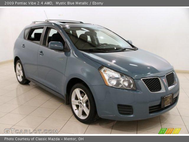2009 Pontiac Vibe 2.4 AWD in Mystic Blue Metallic