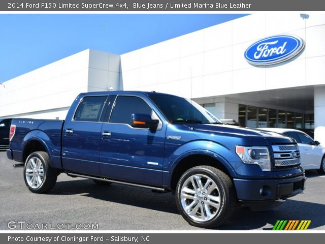 Blue Jeans 2014 Ford F150 Limited Supercrew 4x4