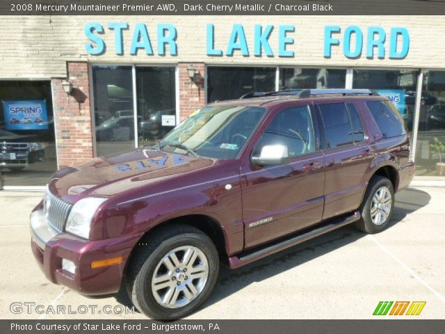 2008 Mercury Mountaineer Premier AWD in Dark Cherry Metallic