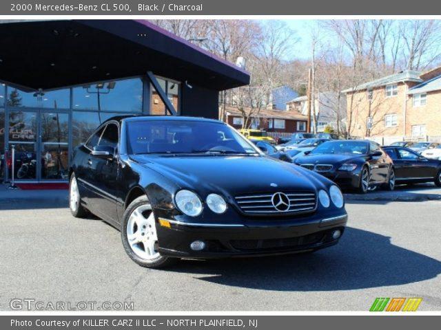 2000 Mercedes-Benz CL 500 in Black