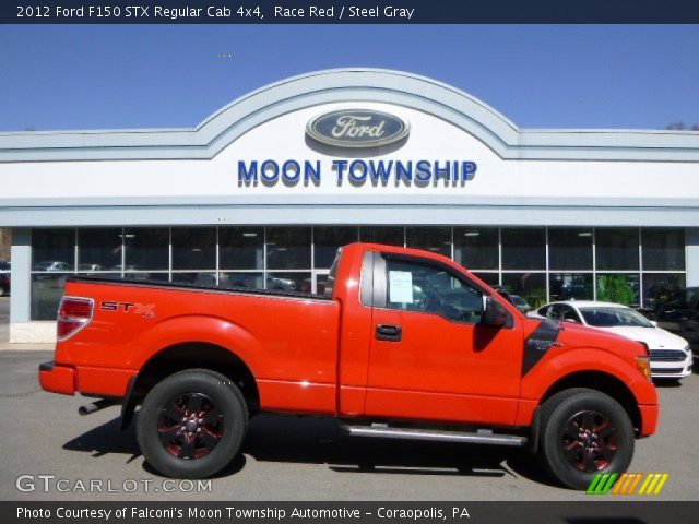 2012 Ford F150 STX Regular Cab 4x4 in Race Red