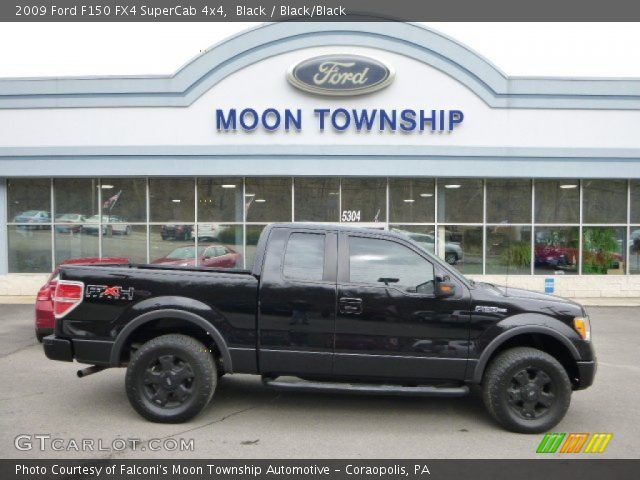 2009 Ford F150 FX4 SuperCab 4x4 in Black