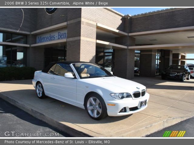 2006 BMW 3 Series 325i Convertible in Alpine White