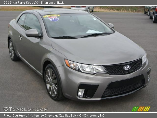 titanium 2012 kia forte koup sx black interior. Black Bedroom Furniture Sets. Home Design Ideas
