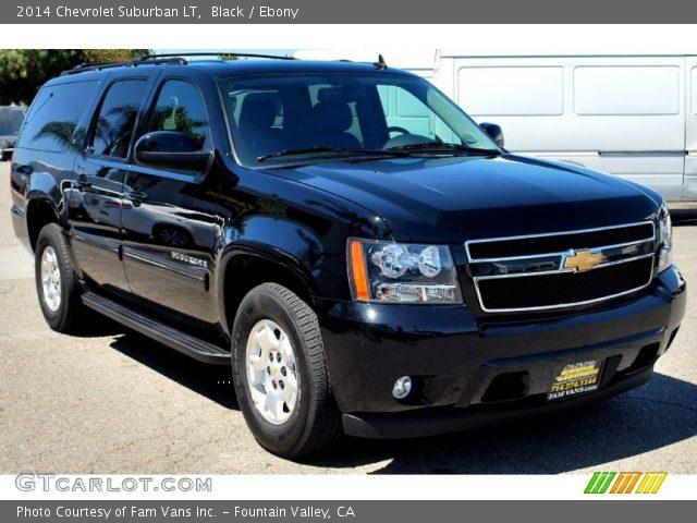 Black 2014 Chevrolet Suburban Lt Ebony Interior Vehicle Archive 92264992