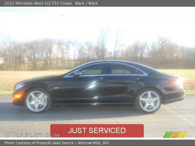 2012 Mercedes-Benz CLS 550 Coupe in Black