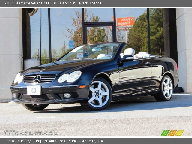 2005 Mercedes-Benz CLK 500 Cabriolet in Black