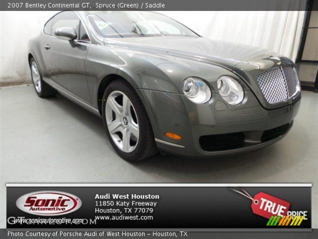 2007 Bentley Continental GT  in Spruce (Green)