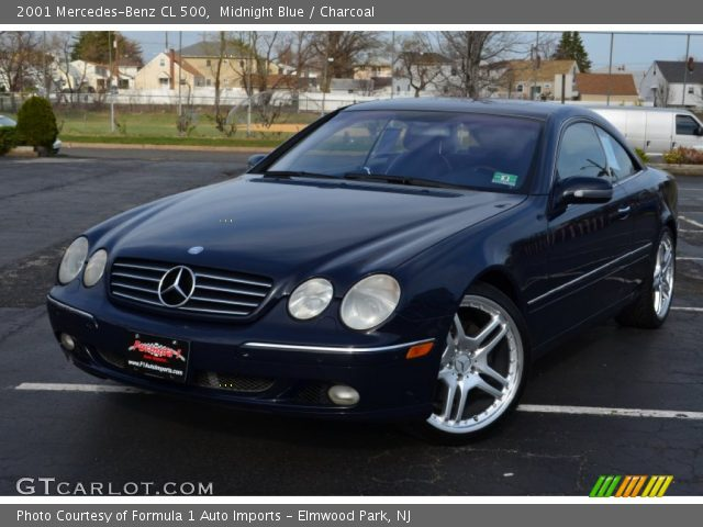 2001 Mercedes-Benz CL 500 in Midnight Blue