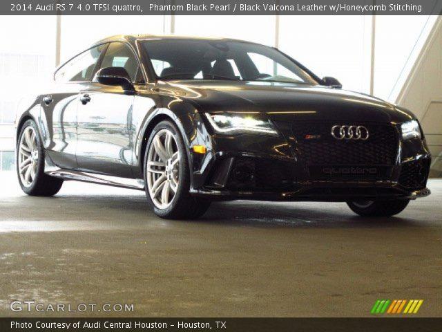2014 Audi RS 7 4.0 TFSI quattro in Phantom Black Pearl
