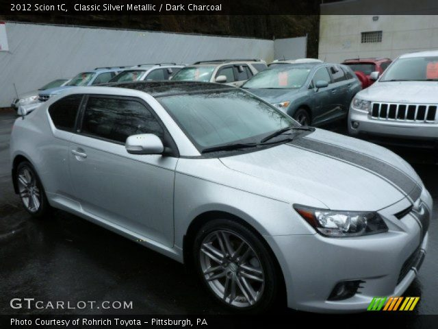 2012 Scion tC  in Classic Silver Metallic
