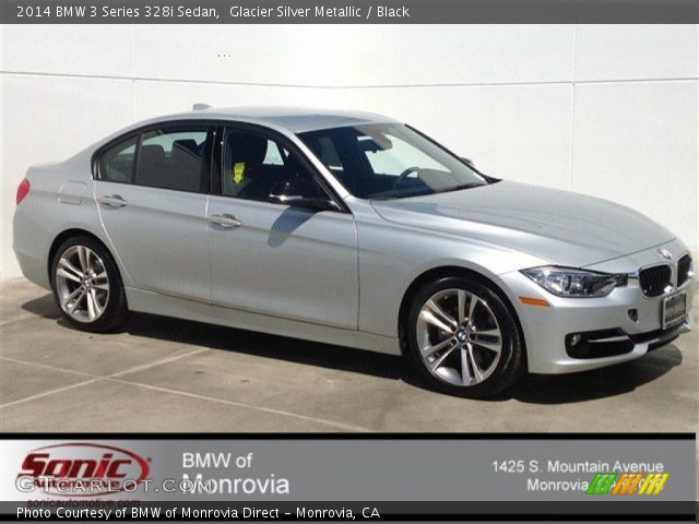 Glacier Silver Metallic - 2014 BMW 3 Series 328i Sedan ...