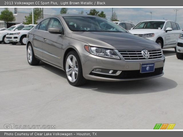 light brown metallic 2013 volkswagen cc sport plus black interior vehicle. Black Bedroom Furniture Sets. Home Design Ideas