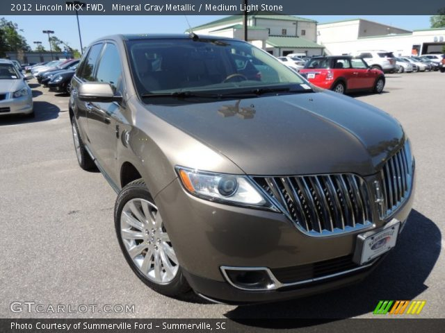 2012 Lincoln MKX FWD in Mineral Gray Metallic
