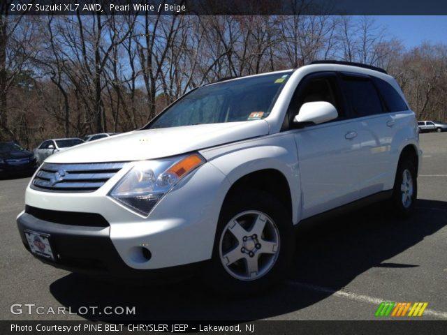 2007 Suzuki XL7 AWD in Pearl White